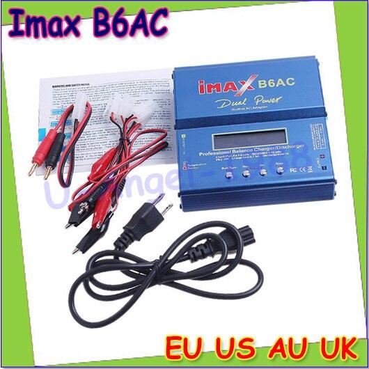 Wholesale 1pcs 80W Digital iMax B6AC Lipro Battery Original Balance Charger for RC Model Nimh Battery Balancing Charger yokatta model 19 6 5x16 5x114 3 et40 d66 1 w b