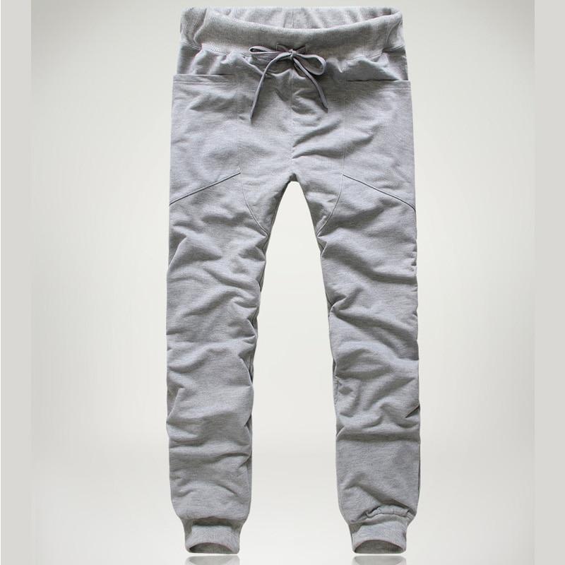 65366ee2995c Cheap Moda 2019 primavera otoño hombres deporte jogging Harem pantalones de  hombre hip hop cintura elástica