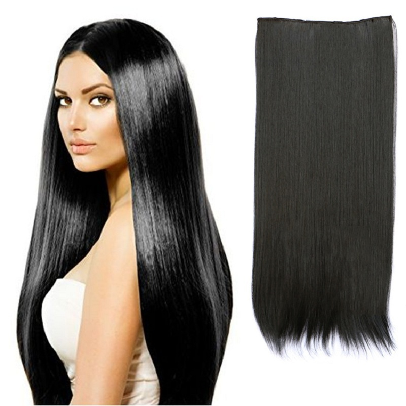27inch Fashion Clip In Hair Extensions Cheap Sexy Straight
