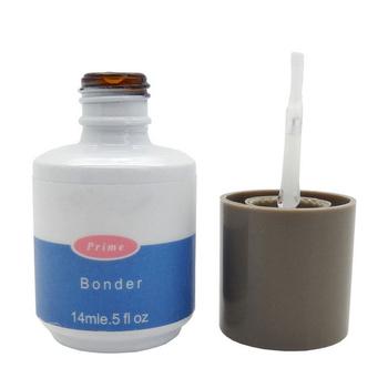 1 sztuk kleju Bonder lakier żelowy uv lakier do paznokci led bez kwasu Primer 0 5oz 14ML salon akrylowe trwały obligacji bezwonny spoiwa płaszcz podstawowy 14ML tanie i dobre opinie 1PCS Wielofunkcyjny top lakier bazowy Base Coat Base Gel