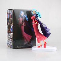 Heißer Verkauf Japan Anime Action-figur ONE PIECE POP Creator prinzessin Mantel Nefeltari Vivi 18 cm 1/8 PVC Modell Sexy Mädchen puppe