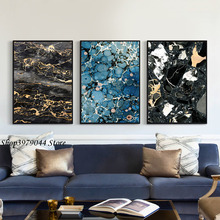 Poster And Prints Wall Art Nordic Poster Canvas Painting Modern Black Abstract Painting Wall Pictures For Living Room Unframed