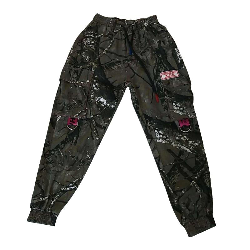 Autumn And Winter Camo Camouflage Cargo Pants Men Women Casual Streetwear