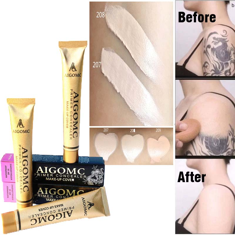 AIGOMC 14color Concealer Makeup Base Foundation Cover  Tattoo Concealer Cream Of Of The Skin Blemish Face Eye Concealer TSLM2