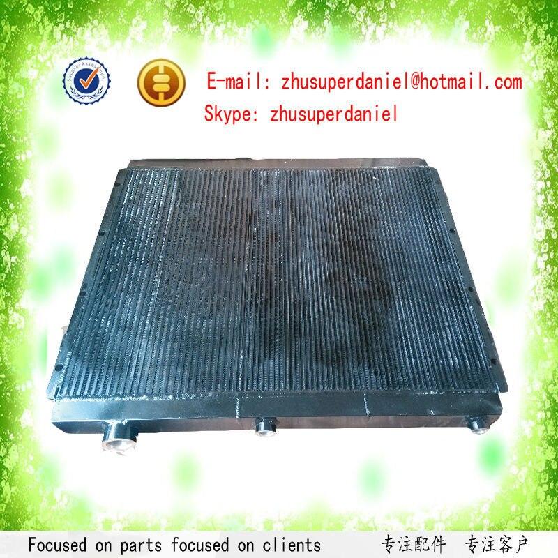 Compresseur d'air portatif de moteur Diesel Atlas Copco DrillAir coquille d'air frais et refroidisseur d'huile de tube 57894966