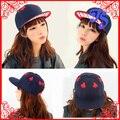 Мода Новый Стиль Casual Вышивка Любитель Покера Хип-Хоп Hat Крышки Snapback Женщины Мужчины Бейсболка