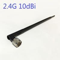 2.4 Ghz 10dbi Wifi Anten N erkek konnektör omni-yönlü 2.4g anten YENI Toptan wifi antena booster