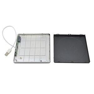 Внешний корпус USB 2,0 для Macbook Air Pro, разъем 9,5 мм 12,7 мм SATA Superdrive, оптический привод Optibay Caddy