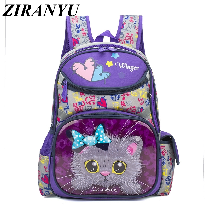 Waterproof Children School Bags Girls Orthopedic Kids Primary School Backpacks Cartoon Schoolbag Kids Backpack Mochila Infantil