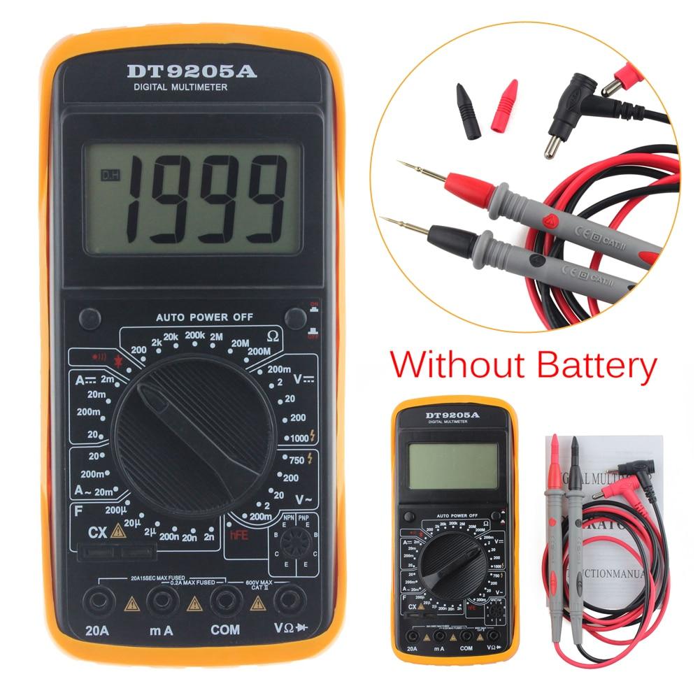 Cartoon Battery Tester : Digital ac dc lcd display professional electric handheld