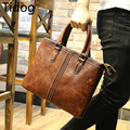 Tidog The new men's shoulder bag briefcase Satchel Bag Handbag Korean leisure business bag