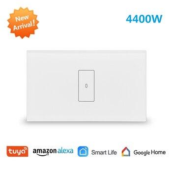 Tuya Smart Life WiFi caldera calentador de agua interruptor nuevo 4400 W, temporizador de aplicación Sechdule encendido, control de voz de Google Alexa Echo Dot