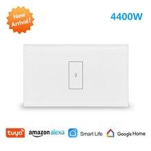 Tuya 스마트 라이프 WiFi 보일러 온수기 스위치 새로운 4400W, App 타이머 일정 켜기 끄기, 음성 제어 Google 홈, Alexa Echo Dot