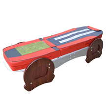 HFR-168BS Split-body  Electric Kneading Full Body Roller Massager with Carbon Fiber Heating Jade Massage Bed Table byriver factory wholesale therapy center jade massage bed reflax shiatsu full body massager equipment 5 4 jade roller