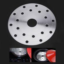 Нержавеющая сталь кухонная посуда Тепловая направляющая плита индукционная варочная панель конвертер диск