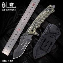 HX Outdoor السكاكين التكتيكية شفرة مثبتة أدوات الإنقاذ بقاء سكين الصيد السكاكين المقاومة للتآكل التخييم أداة خارجية