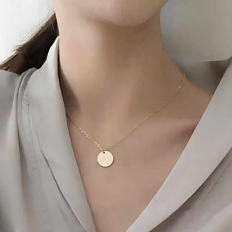 ใหม่แฟชั่นสีทอง CHAIN สร้อยคอผู้หญิงของขวัญฤดูร้อนสั้นสร้อยคอขายส่งเครื่องประดับ X51