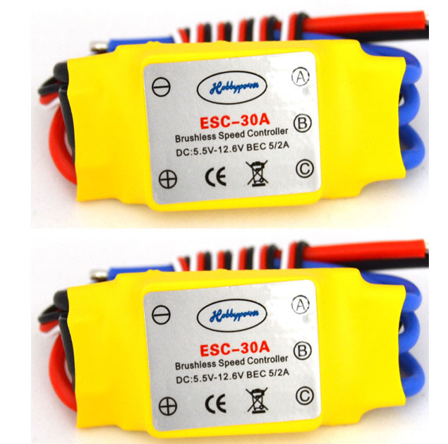 LHM005 30A Brushless Motor Speed Controller Control RC BEC ESC for T-rex 450 Helicopter