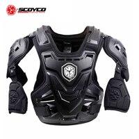SCOYCO CE мотоциклетная Броня мотокросс грудь Защита спины Броня жилет мотоциклетная куртка гоночный защитный корпус Защита MX Броня