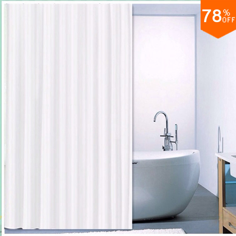 Hot sale Hotel shower curtain customize bath room curtain peva plain - Household Merchandises