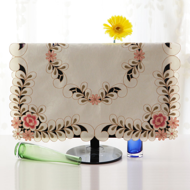 21 - 70 inch TV Cover Decorative Hood Curtain Decor Square 40 55 80 105 125 145