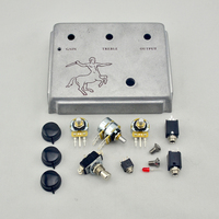 DIY Klon Centaur Silver Professional Overdrive Guitar Effect Pedal Kits Klon Kit