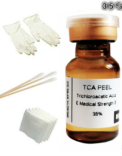 2ML TCA PEEL ! SKIN PEEL KIT 35% Removes Tattoos, Age Spots, Scars, Stretch Marks 2 Free Shipping