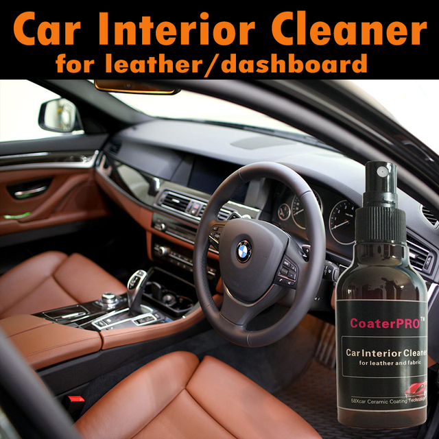Coaterpro Auto Interior Part Cleaning Agent Leather Dashboard Clean Trim Car Care Cleaner Door Inside