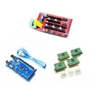 Mega 2560 R3 1pcs RAMPS 1 4 Controller 4PCS A4988 Stepper Driver Module Reprap Mendel Prusa