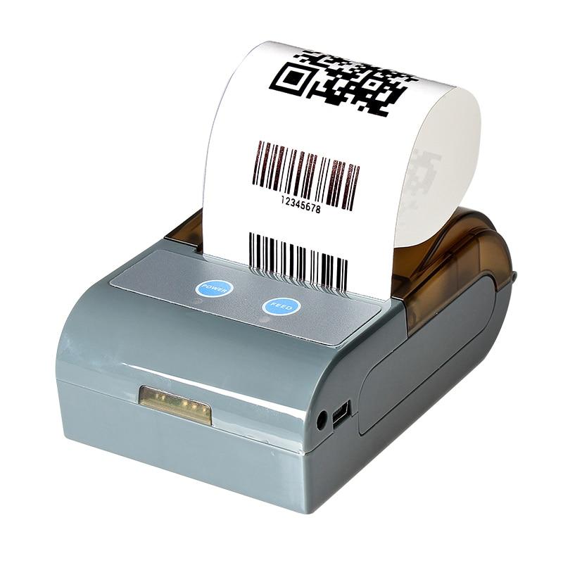 Machine thermique de facture d'imprimante de reçu de position de Bluetooth de 58mm pour le rouleau de machine de position de supermarché