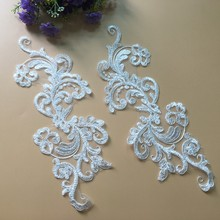 3.7*2.2cm Lace Accessories Lace Applique Patch from Aliexpress TT115