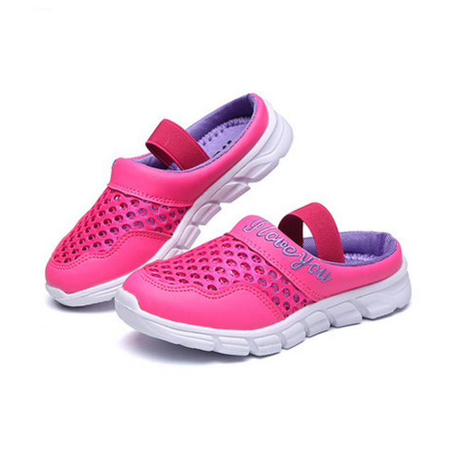b5e125d423670 COZULMA Boys Girls Summer Slippers Shoes Kids Beach Sandals Children Closed  Toe Air Mesh Designer Toddler Sandals Size 26-36