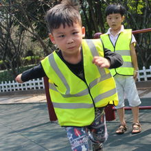 2016 Promotion Full Body Harness Glock The New Child Safety Reflective Vest Traffic Warning Clothing For Pupils Safe Fluorescent