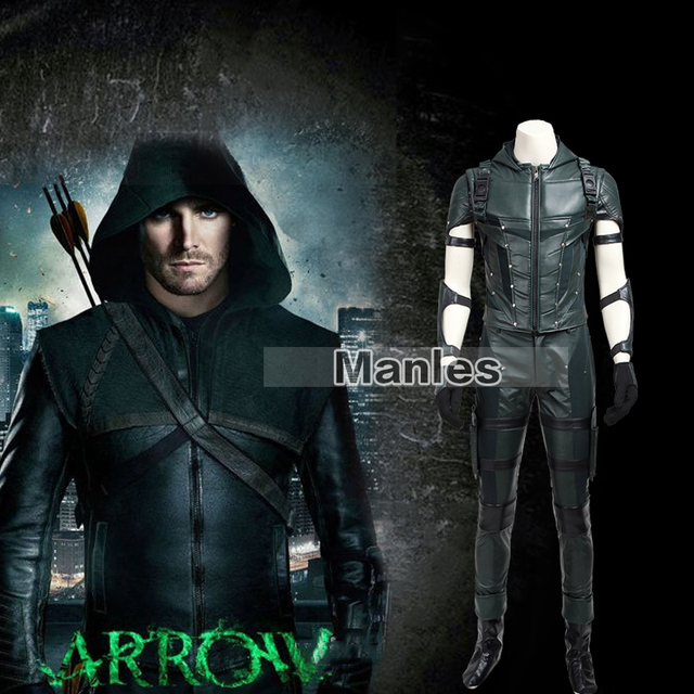 green arrow season 4 oliver queen costume superhero outfit tv show
