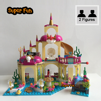 City Friend Princess Ariel S Undersea Palace With Mermaid Ariel And Alana Building Blocks Compatible