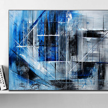 Buy Blue Gray Wall Art And Get Free Shipping On Aliexpress Com