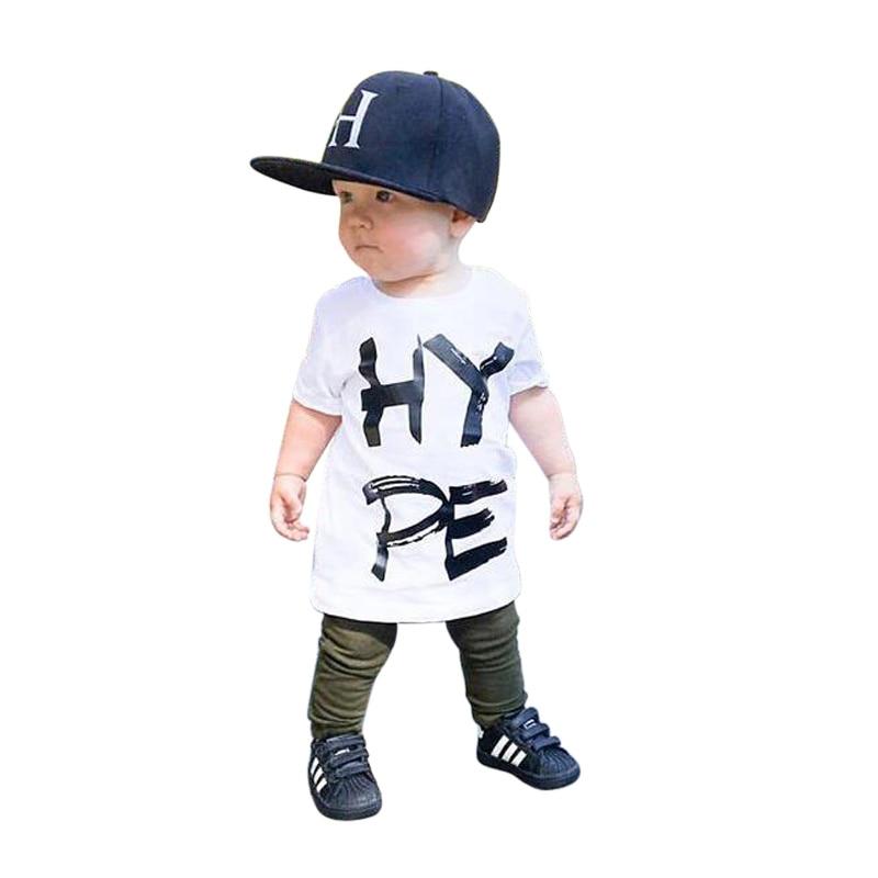 rorychen Clothes Suits 2pcs Children Clothing Sets KIds Boy