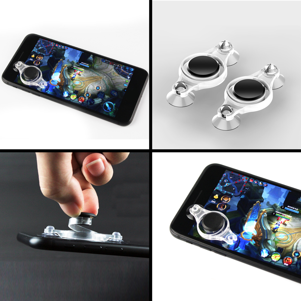 10Pcs/lot Mini Touch Screen Mobile Phone Joystick For PUBG Fortnite Rules of Survival For iPhone Android Arcade Games Controller