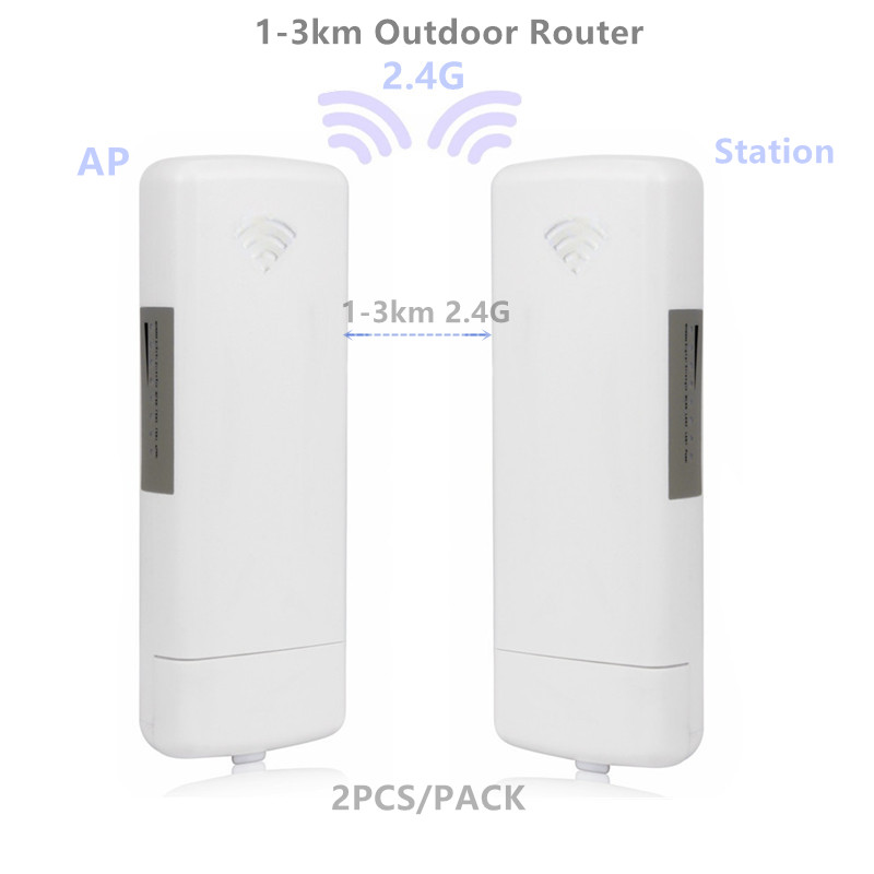 9344 9331 1-3km Chipset WIFI Router WIFI Repeater CPE Long Range 300Mbps2.4G Outdoor AP Router  AP Bridge Client Router Repeater