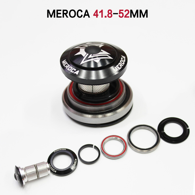 MEROCA 42/41.8-52mm bicycle headset bearings Bowl MTB mountain bike Fork Expand Headsets Spacer bike headset bicycle washer