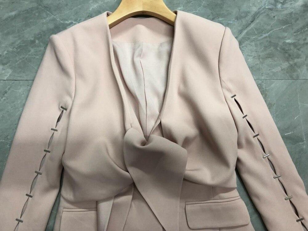 Mode 2 Couleur Femmes V Creux En Alice 2019 Manteau Blazer 18 Col 2 De Printemps xPpwgnqOE