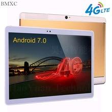 Envío Libre 3G 4G de la tableta Androide de la tableta de 10.1 pulgadas del teléfono llame tablet pc Octa Core de Doble cámara wifi Tabletas 10 + regalos