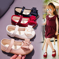 Обувь для девочек; сезон осень; мягкая обувь с бантом для девочек; детская повседневная обувь; детская обувь для девочек; 2019