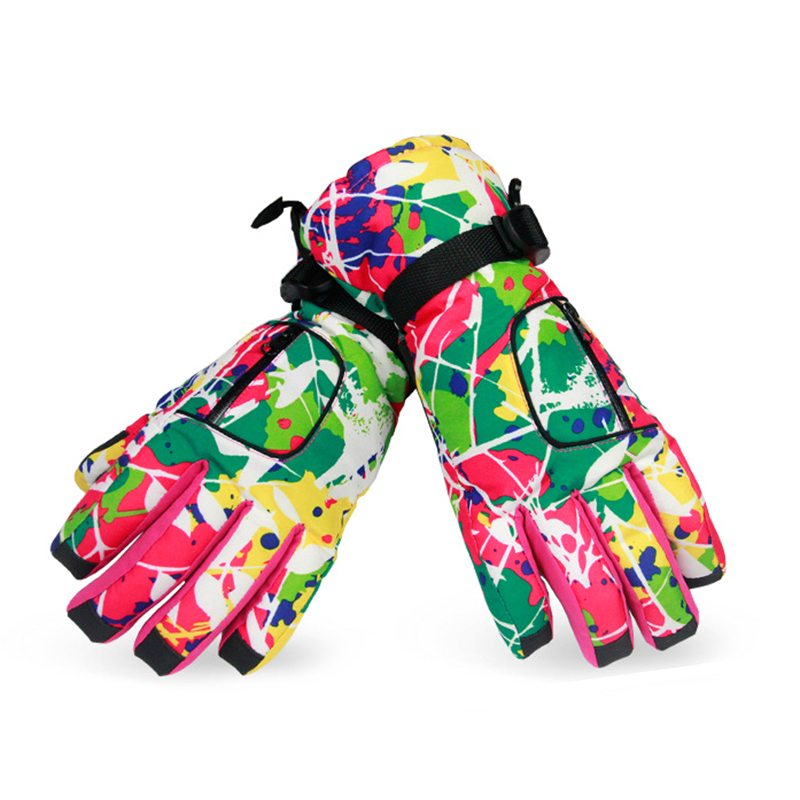 New Style Winter Kids Skiing Gloves Thick Super Warm Windproof Snow Ski Gloves Snowboard Cycling Outdoor Gloves For Women/Men 30