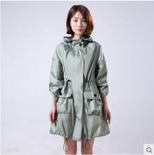 2006 New Fashion Women Trench Raincoat Woman Rain Coat Girl Light Portable capa de chuva impermeable rain suits regenjas coat