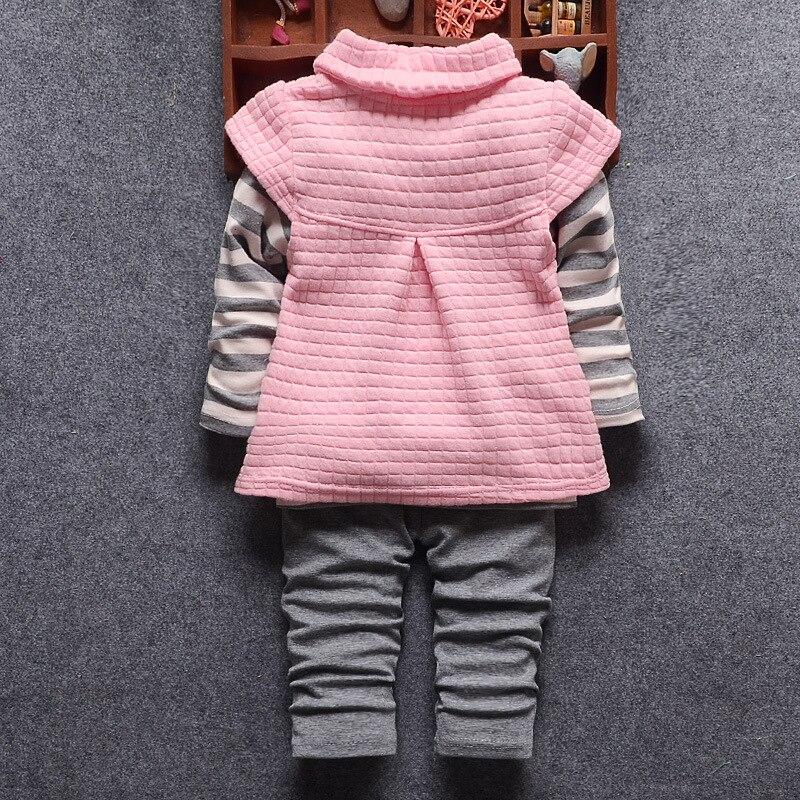Новый Наборы для ухода за кожей 1 пальто с капюшоном на молнии + Штаны + модные 2017 хлопок для маленьких мальчиков Одежда для девочек Дети Маль...