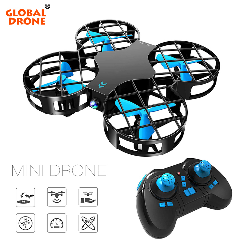 Global Drone Mini Quadrocopter RC Drone Radio controlled Helicopter 6 Axis Headless Mode RTF Mini Drone Dron