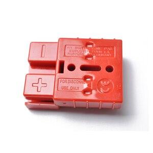 Image 5 - O cabo da bateria de 50a 600 v conecta rapidamente o jogo 12 24 v do conector do guincho da recuperação da desconexão da tomada do chicote de fios do fio