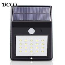 Dcoo Led Solar Lamp Light 20 LEDs Motion Sensor Garden Light Lampada Solar Luz Solar Garden Light Solaire Solar Street Light