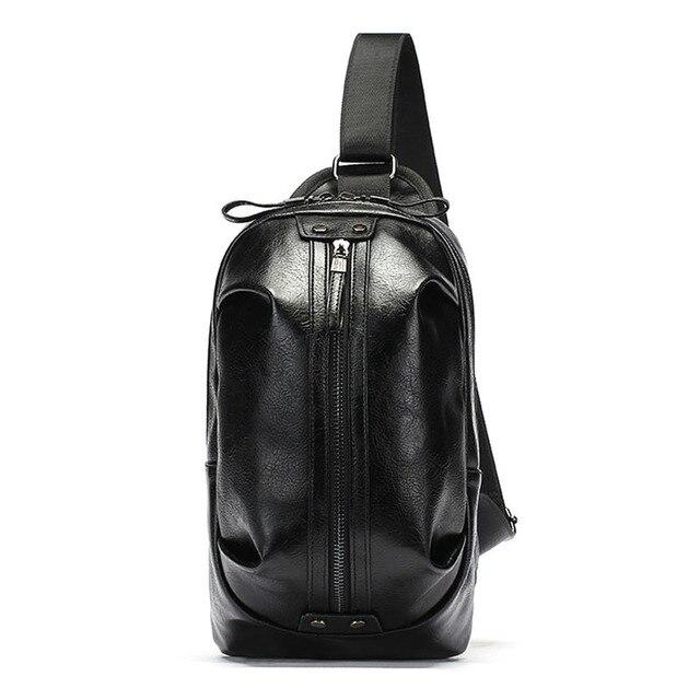 1a95112da47d Men Fashion Leather Vintage Shoulder Messenger Cross Body lv beach sling  Bag Purse bags designer high
